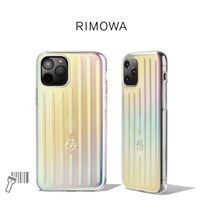 RIMOWA(リモワ) iPhone・スマホケース RIMOWA Iridescent iPhone Case
