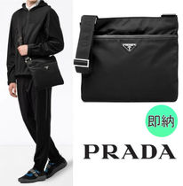 関税込★PRADA(プラダ)Logo crossbody bag black