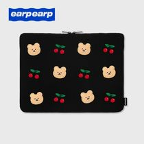 【earpearp】韓国発 Dot Cherry Bear PCケース 13、15インチ