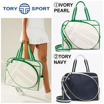 【TORY SPORT】●大人気●CONVERTIBLE PERFORATED-T TENNIS TOTE
