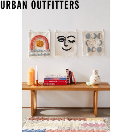 Urban Outfitters ポスター 大人気★ Urban Outfitters  Mini Tufted Flag タペストリー