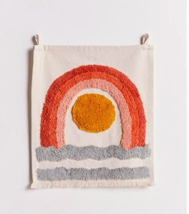 Urban Outfitters ポスター 大人気★ Urban Outfitters  Mini Tufted Flag タペストリー(4)