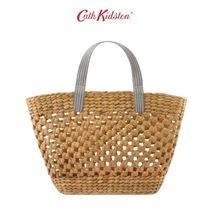 Cath Kidston(キャスキッドソン) かごバッグ CATH KIDSTON WITHOUT POUCH SOLID バスケット
