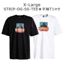 X-Large★STRIP OG★半袖Tシャツ