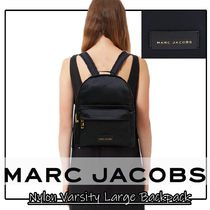MarcJacobs マークジェイコブス Nylon Varsity Large Backpack