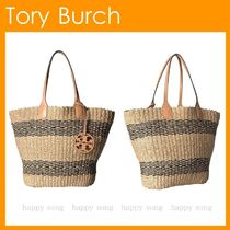Tory Burch◆Miller かごバック STRAW TOTE◆最終SALE