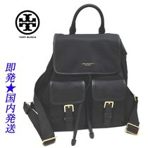 TORY BURCH 58041-001 PERRY NYLON FLAPバックパックBLACK(新品)