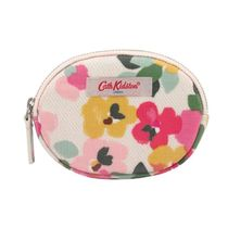 [Cath Kidston] COIN PURSE LARGE PAINTED PANSIES