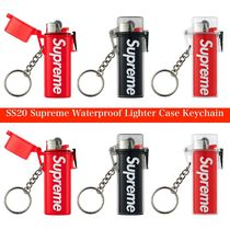 SS20 Supreme Waterproof Lighter Case Keychain ライターケース