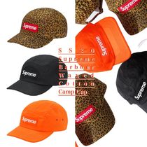 SS20 Supreme Barbour Waxed Cotton Camp Cap - バブアー