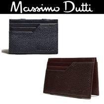 【Massimo Dutti 】EMBOSSED NAPPA LEATHER CARD HOLDER