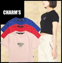 Charm's(チャームス) Tシャツ・カットソー ★送料・関税込/イベント★CHARMS★CHARMS FLOWER CROP T★5色
