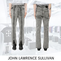 JOHN LAWRENCE SULLIVAN BLEACHED DENIM PANTS