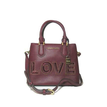 国内即日発送 Michael Kors 35H8GAFM2L LOVE 2WAY バッグ MERLOT