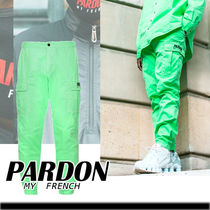 ★PARDON MY FRENCH★CARGO PANTS PARDON MY FRENCH FLUORESCENT