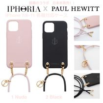 SALE/日未発★ロゴ【送込Paul HewittxIPHORIA】iPhone肩紐Charm