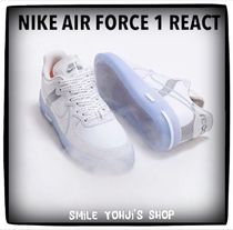"★大人気★NIKE AIR FORCE 1 REACT QS D/MS/X ""WHITE"""