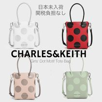 Charles&Keith(チャールズアンドキース) 子供用トート・レッスンバッグ 送関込/日本未入荷☆CHARLES&KEITH  キッズトートバッグ