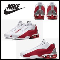 【新作!!入手困難】Nike Shox BB4 ''White/Varsity Red''