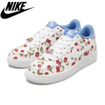 ☆NIKE☆ジュニア AIR FORCE 1 LV8(GS) WHT/UBL 国内発送 正規品