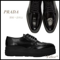 *PRADA*Platform Lace Up Shoes 関税/送料込