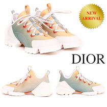 DIOR D-CONNECT DIORAURA SNEAKER TECHNICAL FABRIC