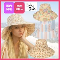lack of color(ラックオブカラー) ハット 【関税込/送料込】海外セレブ♪/女優帽/Holiday Bucket/3種★