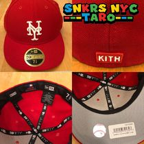 KITH NEW ERA LOW PROF 59FIFTY METSコラボ 日本未入荷 / RED