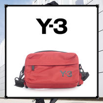 【Y-3】ワイスリー ベルトバッグ ボディバッグ ロゴ付き レッド