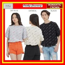 【ROMANTIC CROWN】FRIDAY SLOGAN TEE /男女兼用★安全発送/3色