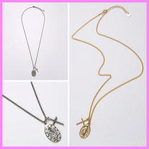 【Hei】maria & cross necklace〜マリア&クロスネックレス