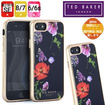 【TED BAKER】HEDGEROW iPhone SE/8/7/6ケース《ブラックx花柄》