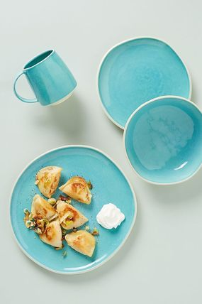 Anthropologie 食器(皿) 期間限定セール! Mary Jo Side Plates 4枚セット(3)