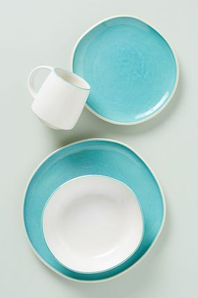 Anthropologie 食器(皿) 期間限定セール! Mary Jo Side Plates 4枚セット(4)