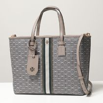 TORY BURCH トートバッグ 53304 GEMINI LINK CANVAS SMALL TOTE
