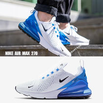 NIKE★AIR MAX 270★WHITE/BLACK/PHOTO BLUE/PURE PLATINUM