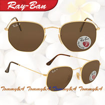 ★RAY BAN ★ レイバン Hexagonal Polarized Brown Classic G-15