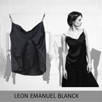 LEON EMANUEL BLANCK Distortion String Top (Negligee), silk