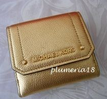 sale! Michael Kors★三つ折り財布gold
