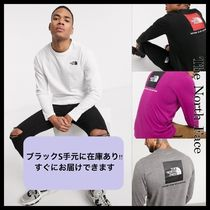 【The North Face】Red Boxロゴ長袖Tシャツ MENS/送料無料