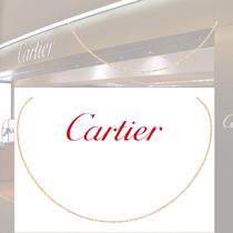 Cartier/カルティエ ピンクゴールド チェーンネックレス