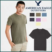 American Eagle Outfitters(アメリカンイーグル) Tシャツ・カットソー ◆American Eagle◆ Cotton Solid Crew Neck T-shirt 7色