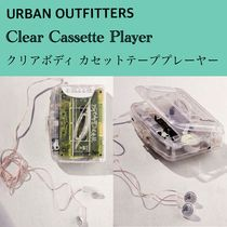 【Urban Outfitters】Clear Cassette Player カセットプレーヤー