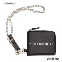 OFF-WHITE QUOTE CHAIN WALLET オフホワイト チェーン付財布