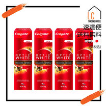 Colgate (コルゲート) Optic White Volcanic Mineral 4のセット