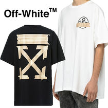 OFF-WHITE☆TAPE ARROWデザイン 2020SS OVER S/S TEE