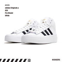 人気話題コラボ!adidas Originals x 424 Pro Model White