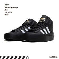 人気話題コラボ!adidas Originals x 424 Pro Model Black