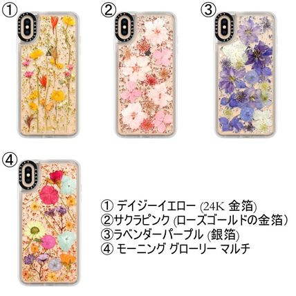 Casetify スマホケース・テックアクセサリー 【送関込】★Casetify★名前入り 押し花 iPhone Case(3)