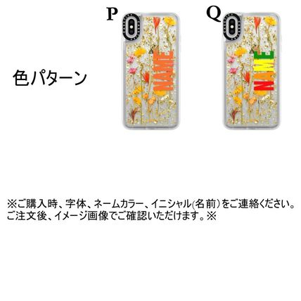Casetify スマホケース・テックアクセサリー 【送関込】★Casetify★名前入り 押し花 iPhone Case(12)